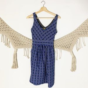 Anthropologie Dresses - Anthropologie Maeve Lazuli Aztec Dress